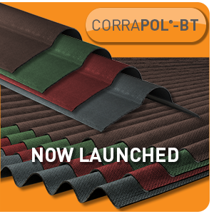 PRODUCT LAUNCH: CORRAPOL<sup>®</sup>-BT BITUMEN SHEETS