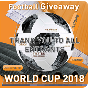 World Cup Football Giveaway