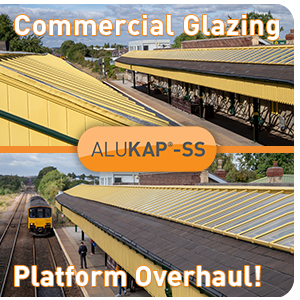 ALUKAP-SS COMMERCIAL GLAZING APPLICATION