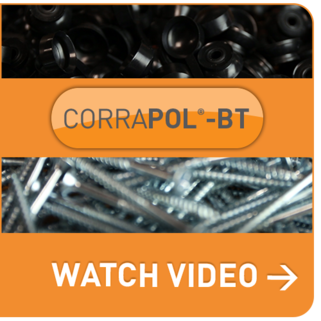 FLEXIBLE CORRAPOL<sup>®</sup>-BT BITUMEN SCREW CAP FIXINGS