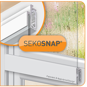 The Easy to Install Secondary Glazing System | SekoSnap<sup>®</sup>