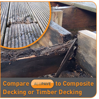 Compare Composite Decking Prices with Timber and Aluminium Decking